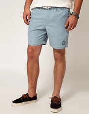 RVCA Shorts Flo Enzyme Wash Drawcord