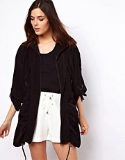 ASOS Draped Parka