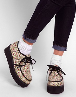 Image 3 ofASOS VIXON Flatform Creepers