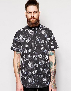 nANA jUDY Muse Floral Short Sleeve Shirt