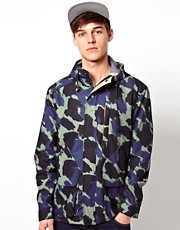 Suit Camo Hooded Jacket