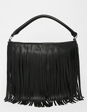 New Look Fringed Shoulder Bag