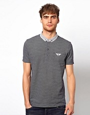 River Island Two Tone Pique Polo Shirt
