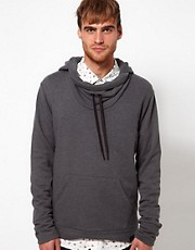 Diesel Hooded Sweat Cowl Neck Serial