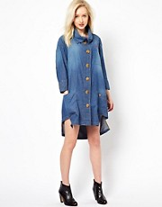 Vivienne Westwood Anglomania For Lee Denim Shirt Dress