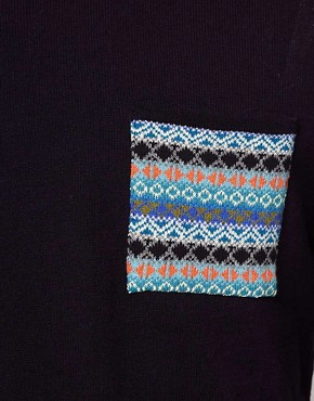 Image 3 ofASOS Fairisle Patched Jumper