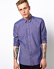 WESC Shirt Tyrone Slim Fit Long Sleeve Oxford