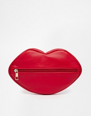 ASOS Make Up Bag In Lips Design