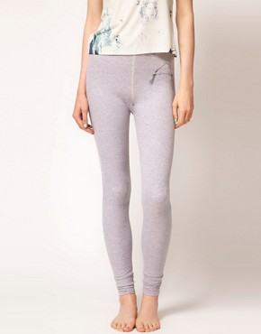 Image 4 ofElliot Atkinson Legging with Printed Emblem