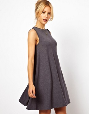 Image 1 ofASOS Sleeveless Swing Dress