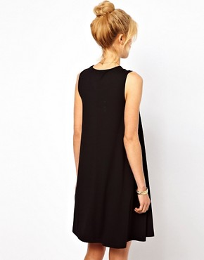Image 2 ofASOS Sleeveless Swing Dress