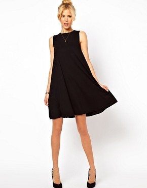 Image 4 ofASOS Sleeveless Swing Dress