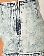 Image 3 ofASOS Denim Shorts In Acid Wash