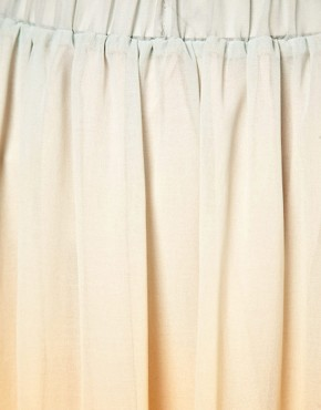 Image 3 ofJust Female Dip Dyed Maxi Skirt