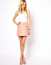 ASOS Skirt in Geo Jacquard