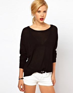 Image 1 ofMango Slouchy Light Jumper
