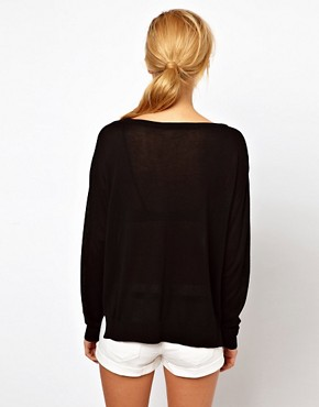 Image 2 ofMango Slouchy Light Jumper
