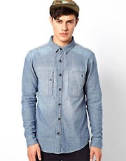 Volcom Shirt Long Sleeve Heavy Stone Wash