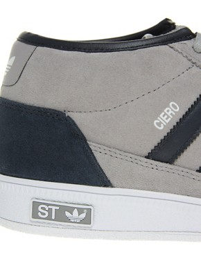 Image 2 ofAdidas Originals ST Ciero Mid Trainers