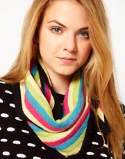 Electronic Sheep Wool Candy Scarf