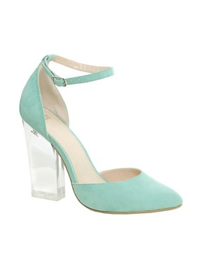 Image 1 of ASOS PRAYER Pointed High Heels
