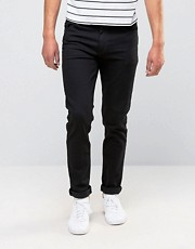 ASOS  Schwarze Rhrenjeans