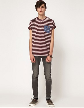 Image 4 ofRock &amp; Revival T-Shirt Striped