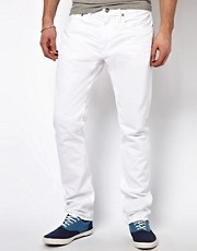 Polo Ralph Lauren Slim Jeans in White Denim