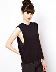 Cheap Monday High Neck Vest