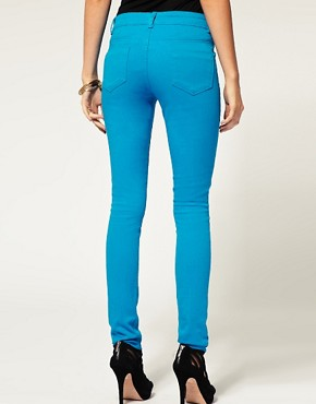 Image 2 ofASOS Light Blue Skinny Jeans