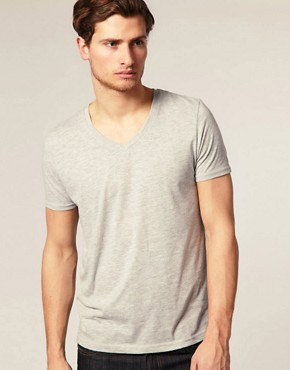 Image 1 ofASOS V-Neck T-Shirt