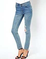 Oasis Exclusive Floral Rip And Repair Jean