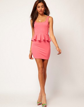 Image 4 ofRiver Island Peplum Dress