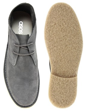 Image 3 of ASOS Desert Boots in Suede