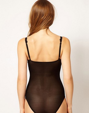 Image 2 ofASOS Boudoir Broderie Trim Body