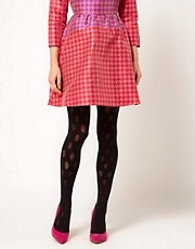 House of Holland For Pretty Polly Reverse Polka Dot Tights