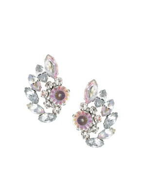 Image 1 of ASOS Jewel Vine Earrings