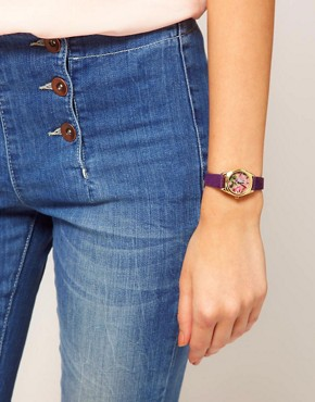 Image 2 ofASOS Vintage Floral Watch