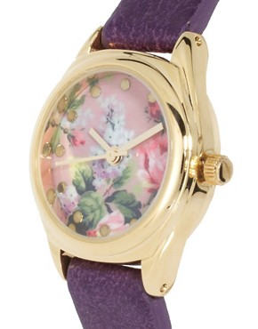 Image 3 ofASOS Vintage Floral Watch