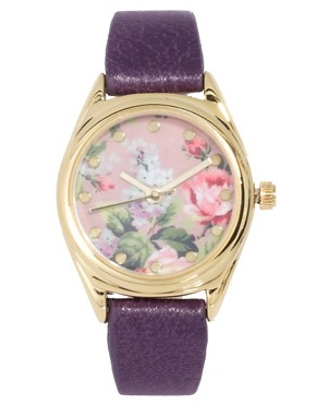 Image 1 ofASOS Vintage Floral Watch