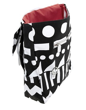 Image 2 of Lazy Oaf Metrics Square Backpack