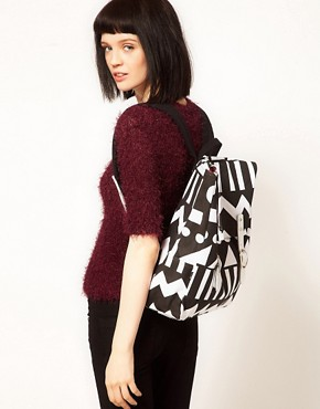 Image 3 of Lazy Oaf Metrics Square Backpack