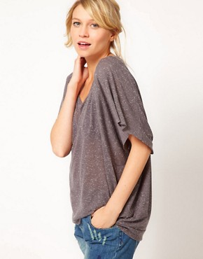 Image 1 ofASOS Oversize Top in Neppy