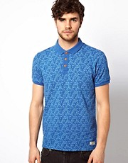 Jack &amp; Jones Allover Print Polo