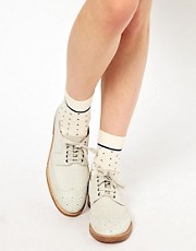 ASOS 3 Pack Stripe/Plain/Spot Socks