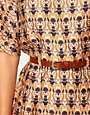 Image 3 ofASOS Wiggle Dress In Vintage Wallpaper Print