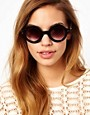 Image 3 ofJeepers Peepers Rita Round Sunglasses