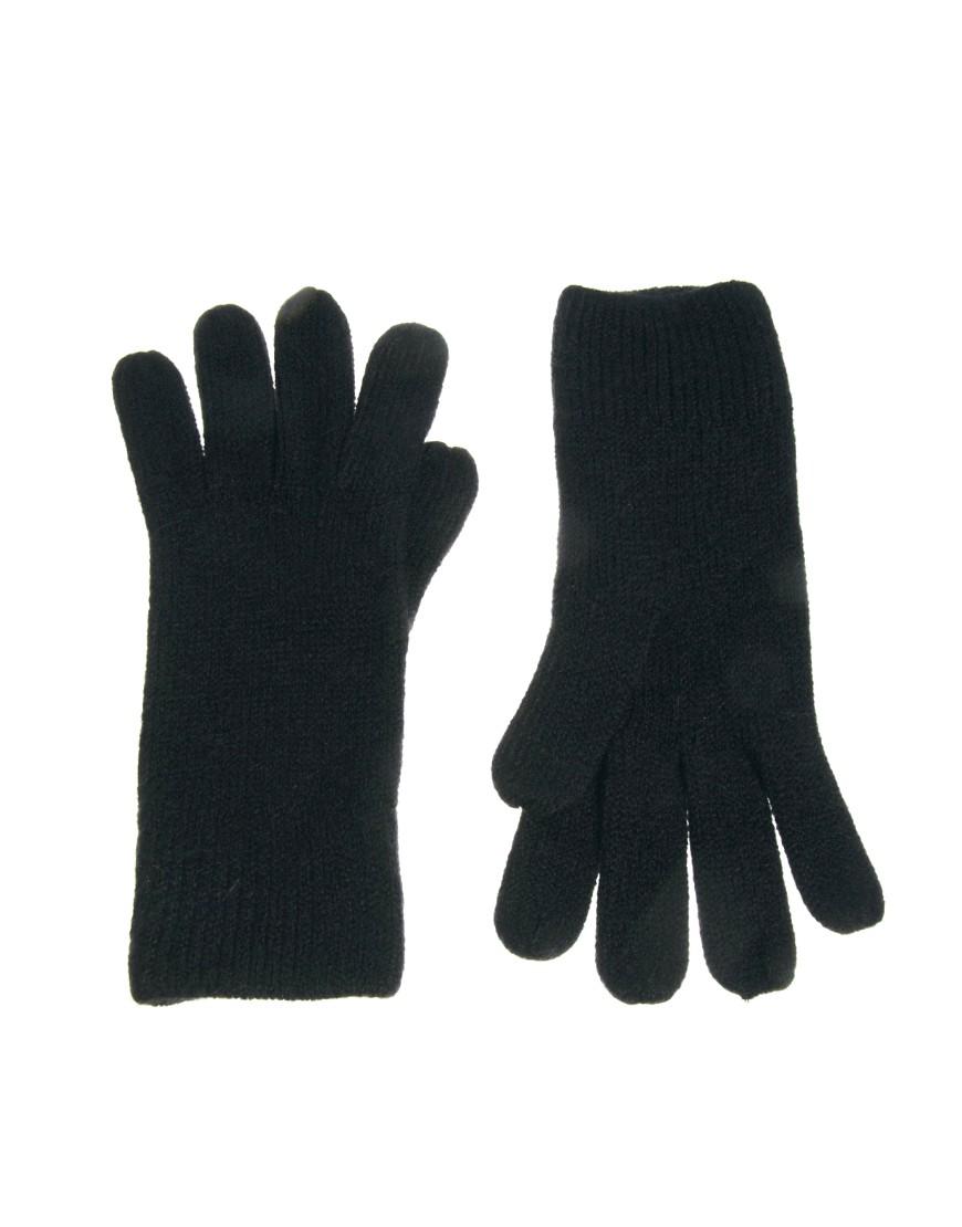 Image 1 ofASOS Basic Gloves
