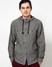 Fenchurch Hooded Chambray Shirt