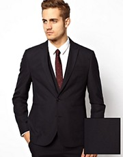 ASOS Slim Fit Suit Jacket in Navy